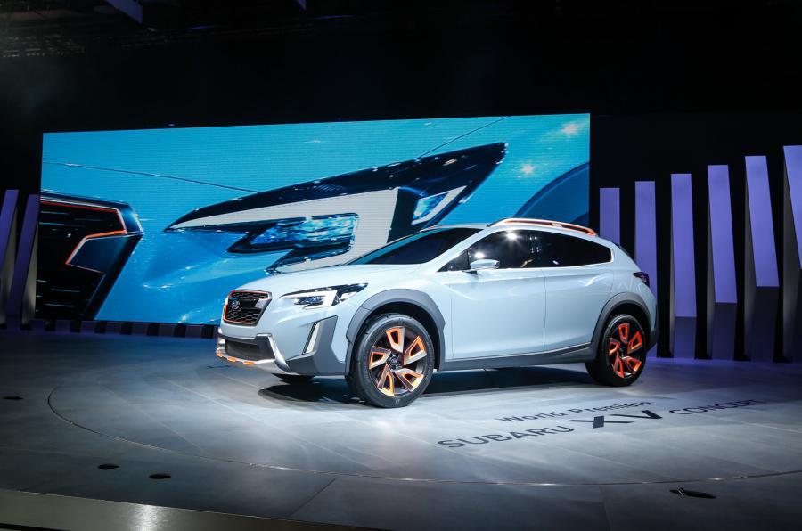 Subaru намекнула на новый XV одноимённым концептом