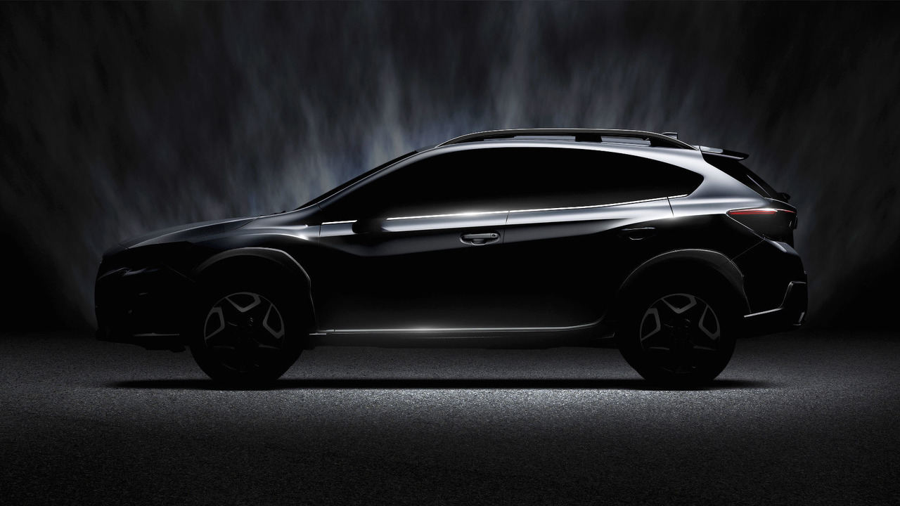 Новый Subaru XV приедет на автосалон в Женеве