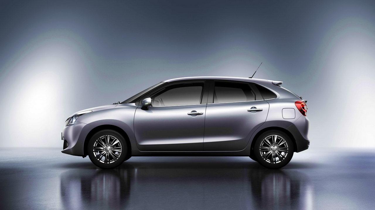 Хэтчбек Suzuki Baleno примеряет логотип Toyota