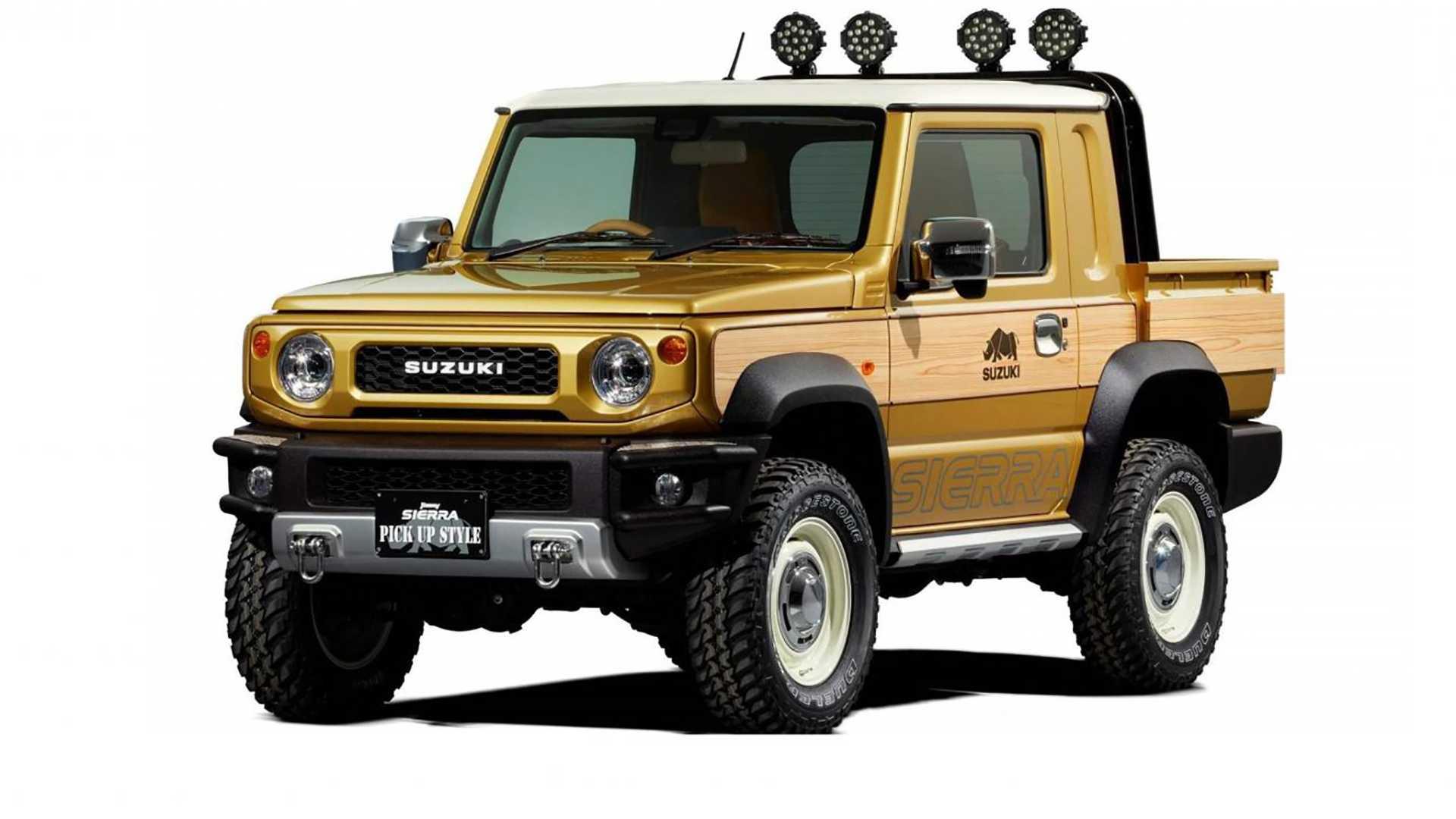 Новый Suzuki Jimny станет пикапом