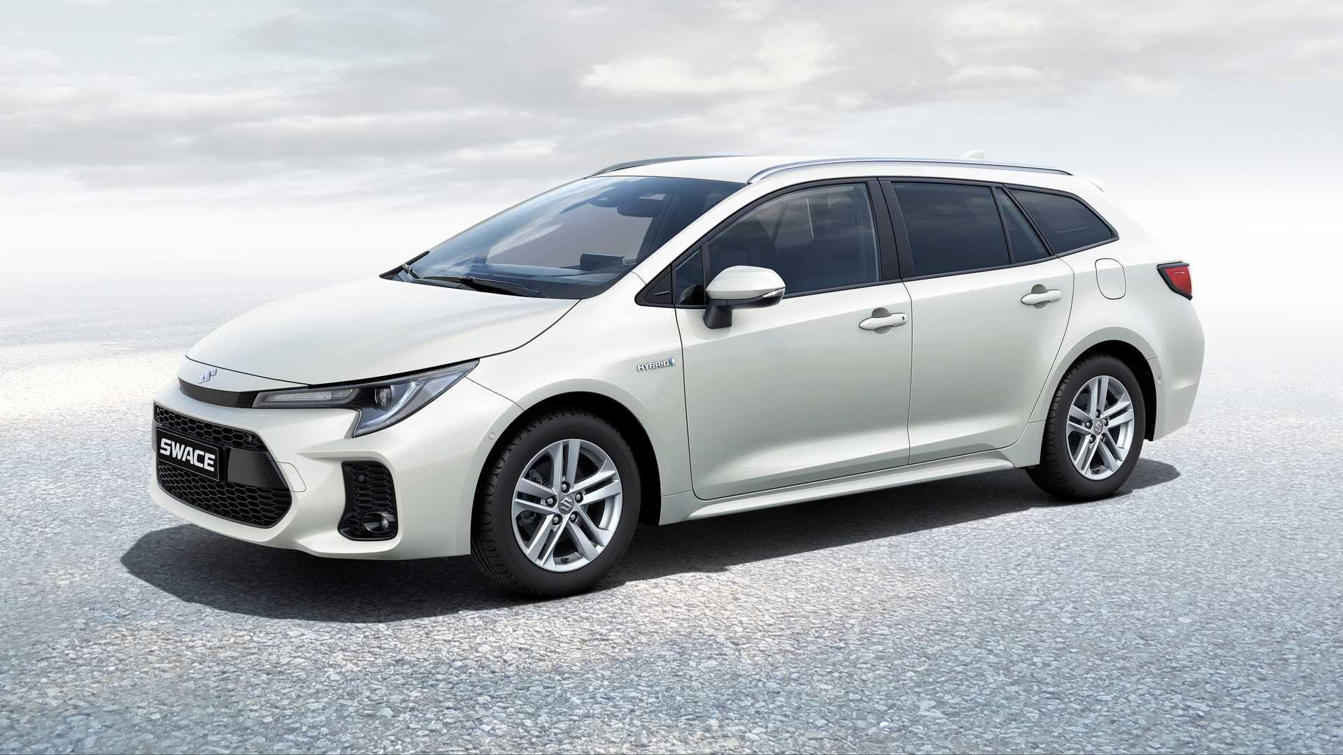 Toyota Corolla verwandelt sich in einen Suzuki Swace Kombi