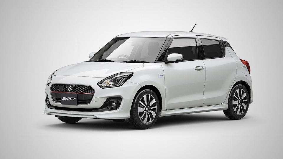 Suzuki представила хэтчбек Swift нового поколения