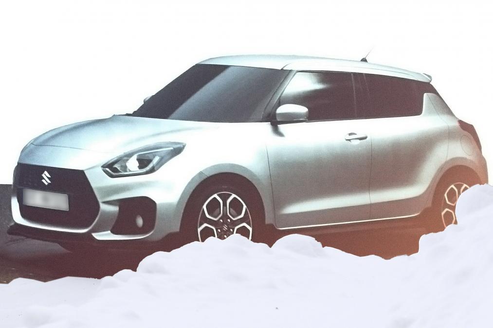 Новый Suzuki Swift рассекретили в сети
