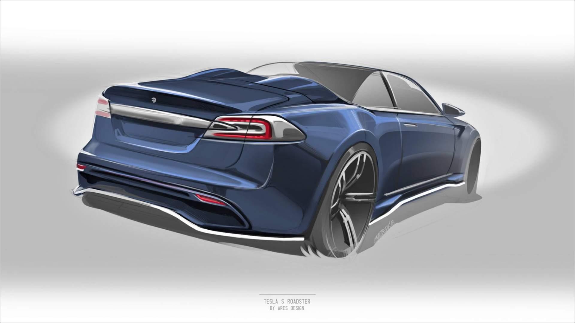 Ares Design построит родстер на базе Tesla Model S