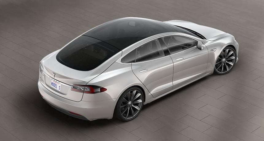 Tesla Model S получила панорамную крышу нового типа