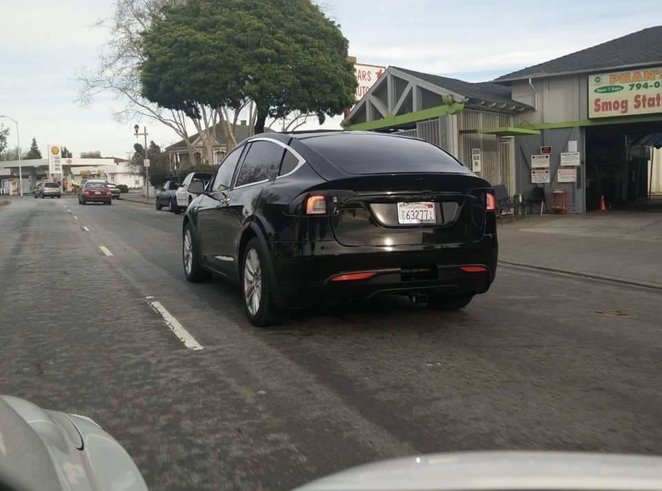 Tesla Model X spy