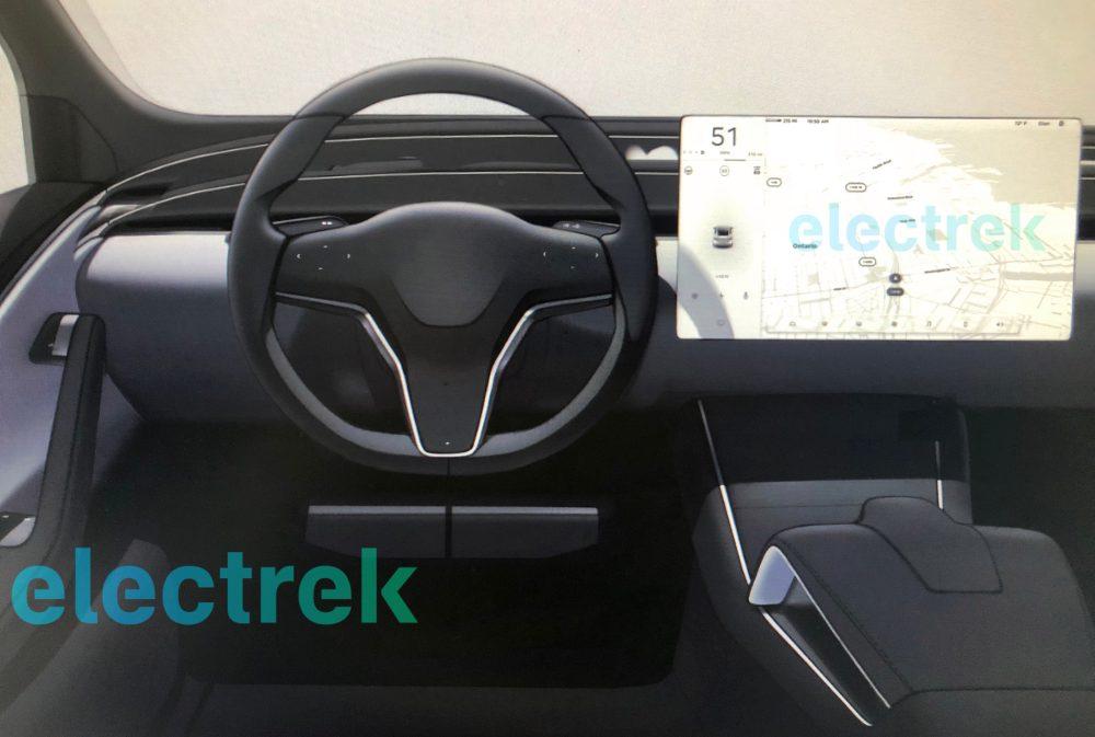 Модели Tesla Model S и Model X получат обновлённые интерьеры в стилистике Model 3