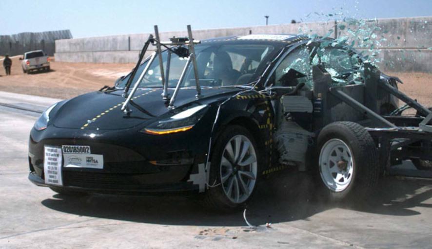 Tesla Model 3 — самый безопасный автомобиль за всю историю краш-тестов NHTSA
