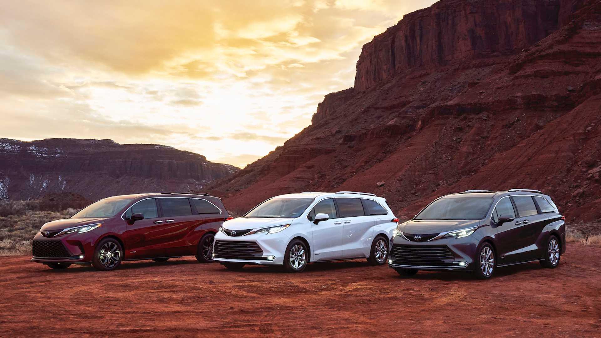Новый Toyota Sienna: «самозаряжающийся» полноприводный гибрид