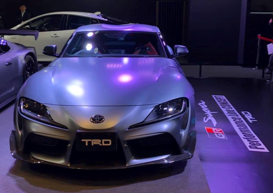 Toyota представила концепт-кар Supra TRD