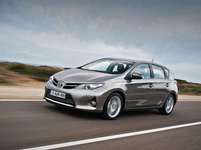Новая Toyota Auris — от 148 867 гривен