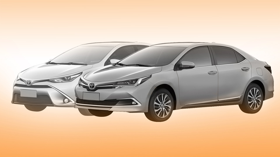 Toyota запатентовала рестайлинговую Corolla