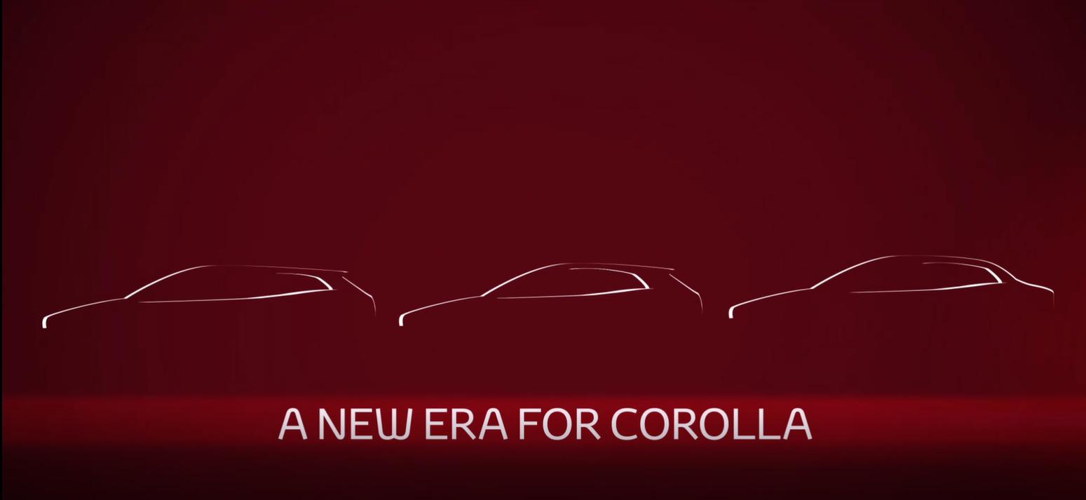 Toyota назвала дату премьеры седана Corolla нового поколения