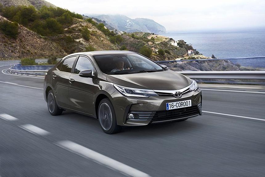Обновлённая Toyota Corolla: новые подробности