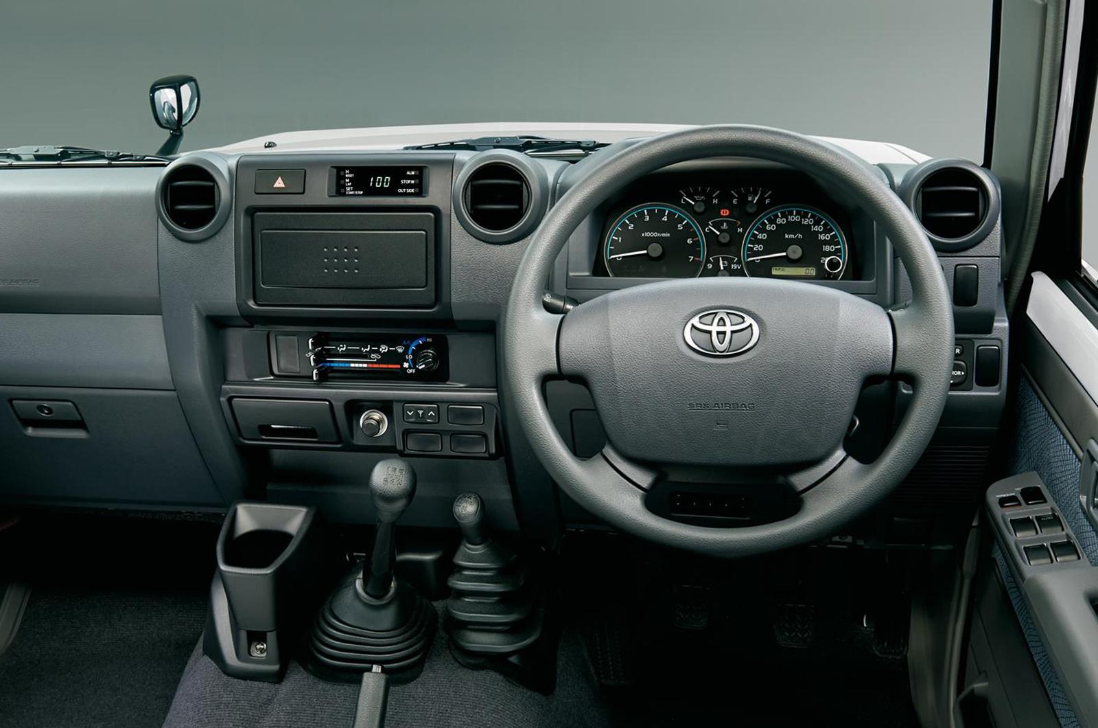 Toyota Land Cruiser 70 interior