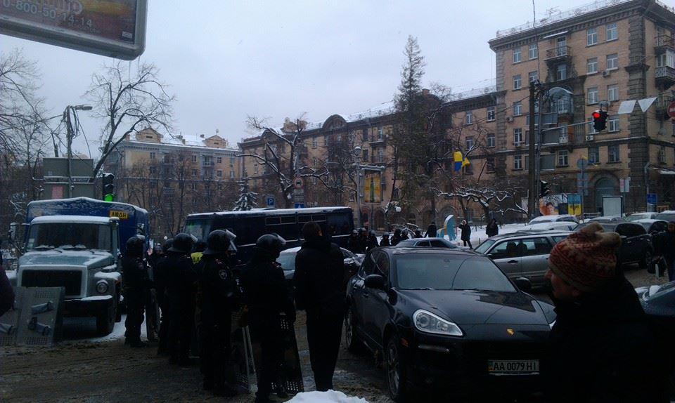 """Аварийность на дорогах Киева обусловлена """"Евромайданом"""""""