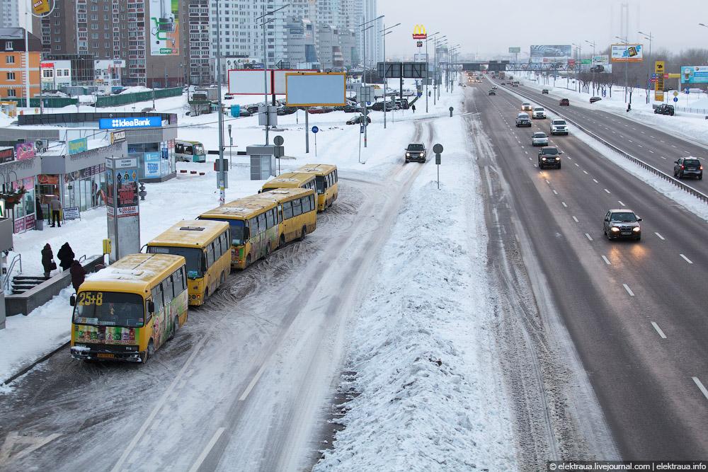 Из-за штормового предупреждения в Киеве повысят тарифы на стоянках