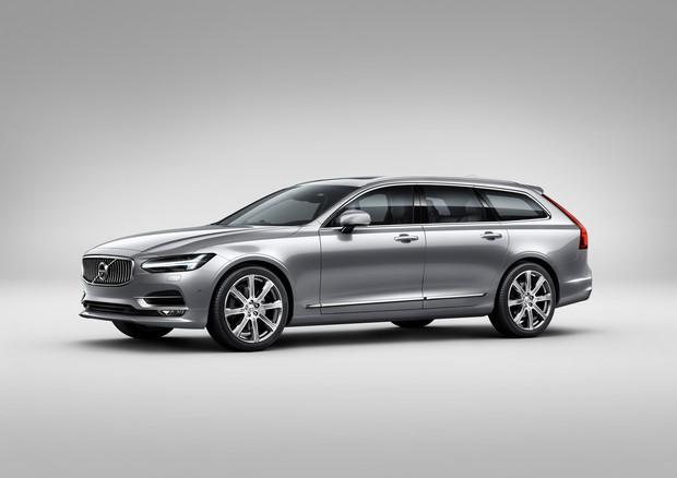 Представлен универсал Volvo V90 (28 фотографий+видео)