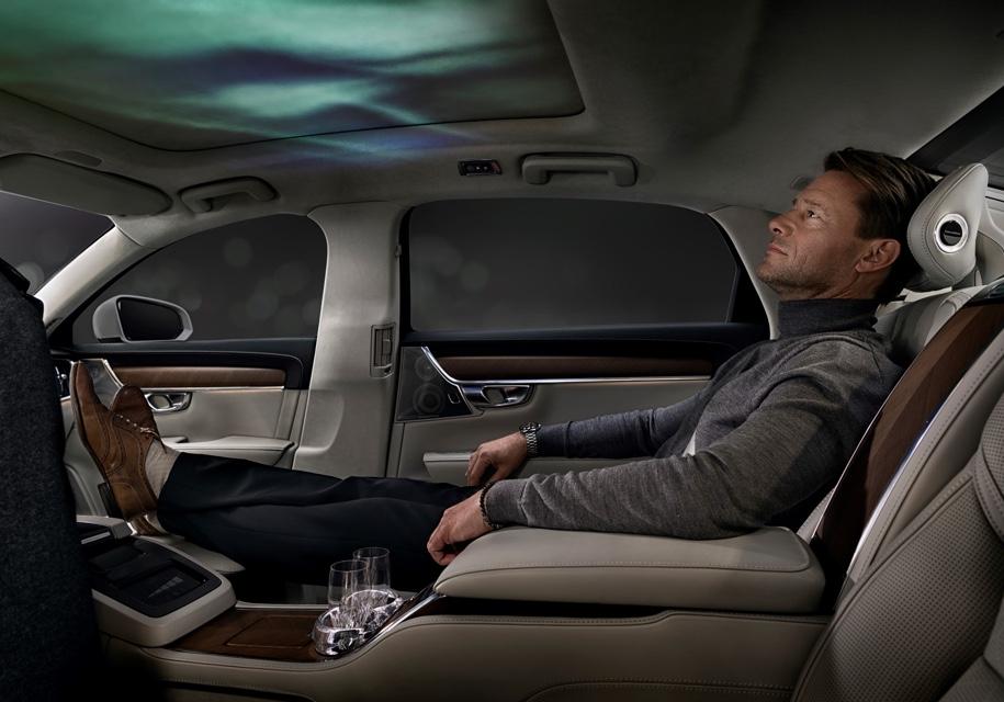Volvo «обучит» смартфоны влиять на атмосферу в салоне автомобиля