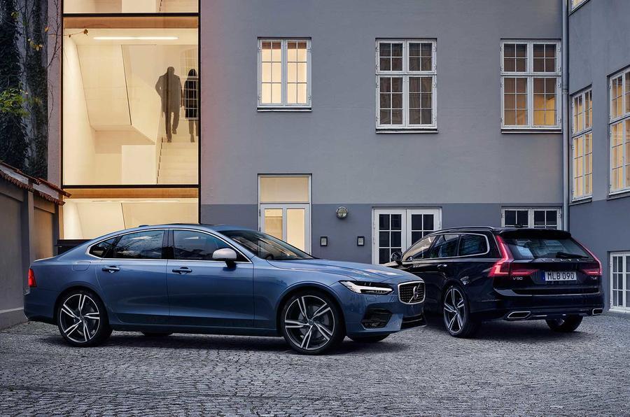 Новые Volvo S90 и V90 получили спорт-пакет R-Design