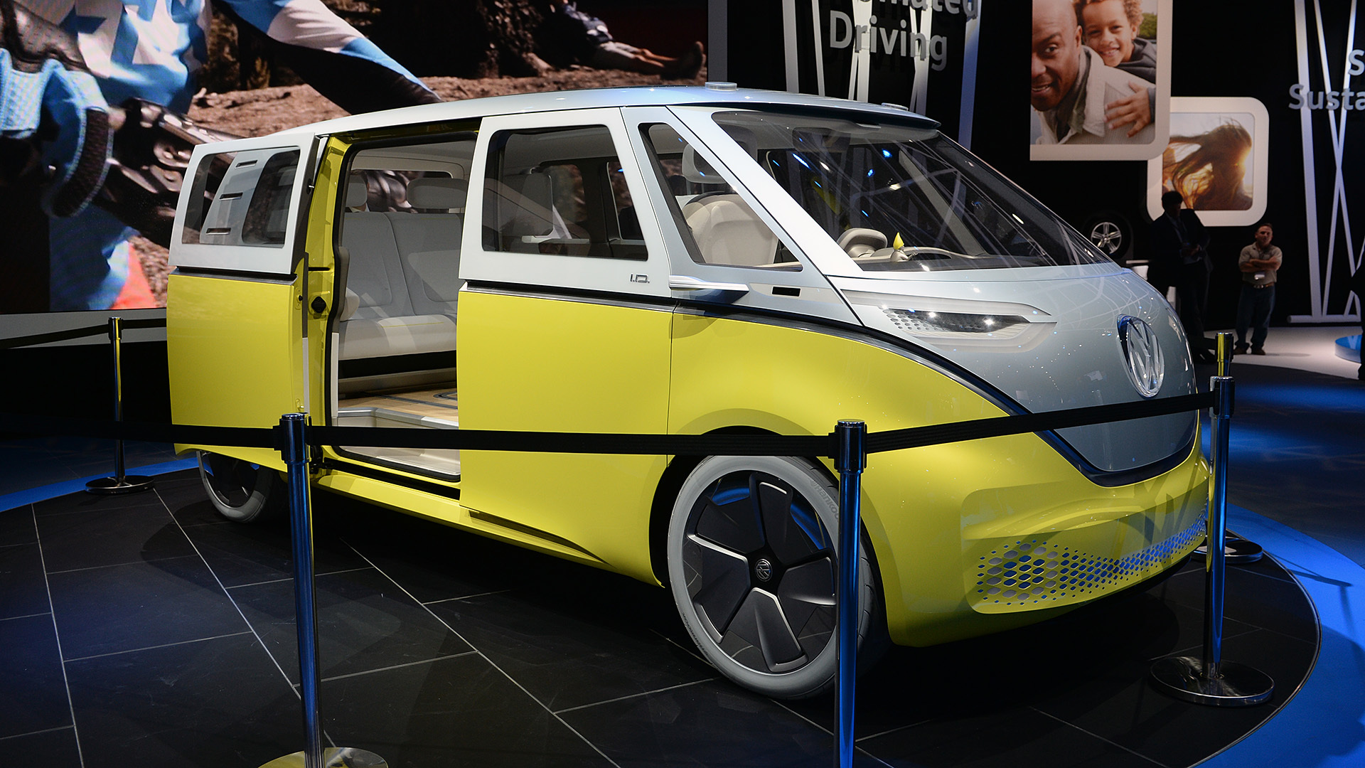 I. D. Buzz Concept: еще один электрический минивэн Фольксваген