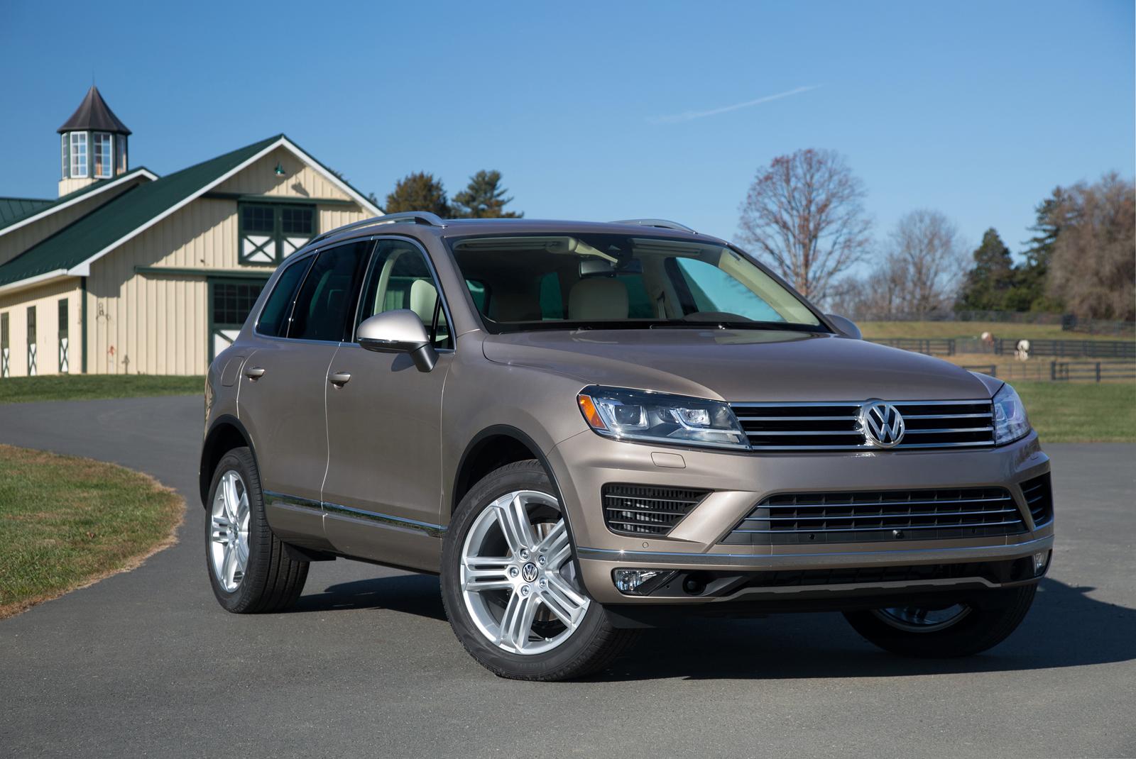 Volkswagen Touareg больше не будет продаваться в США