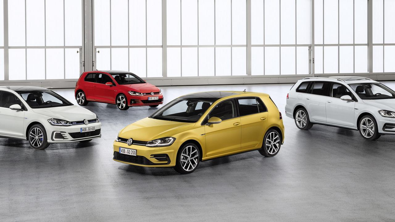 Обновленный Volkswagen Golf VII получил полностью светодиодные фары
