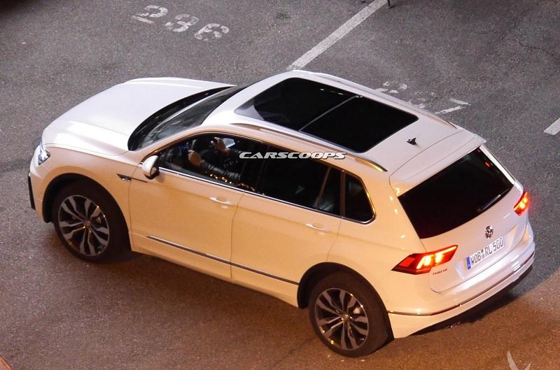 Новый Volkswagen Tiguan «засветился» в сети до премьеры