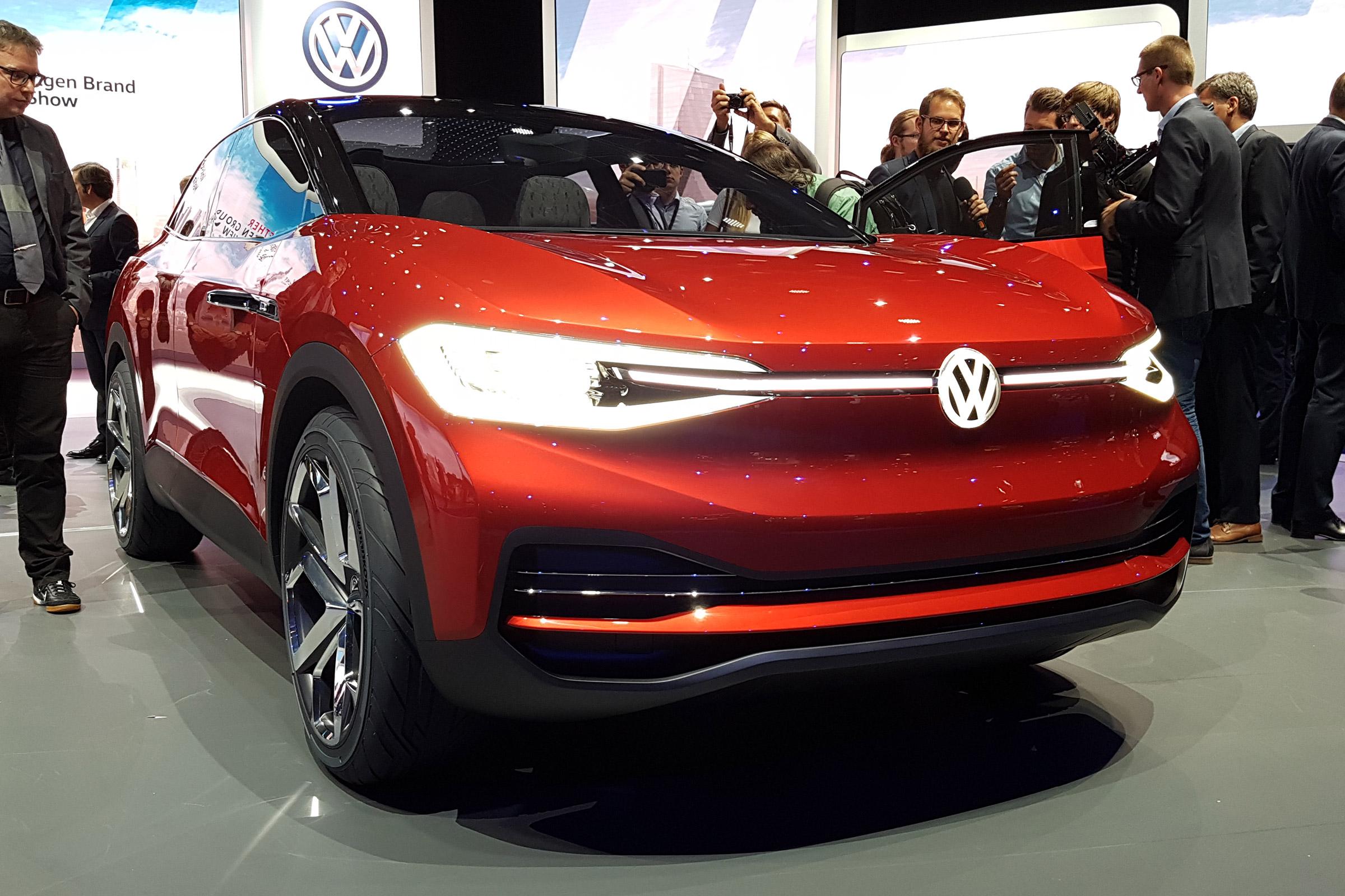 Франкфурт 2017: Volkswagen представил обновленный I.D.Crozz