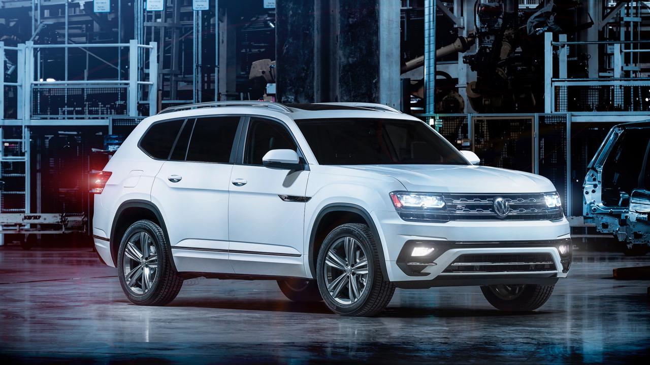 Volkswagen Atlas получил пакет R-Line