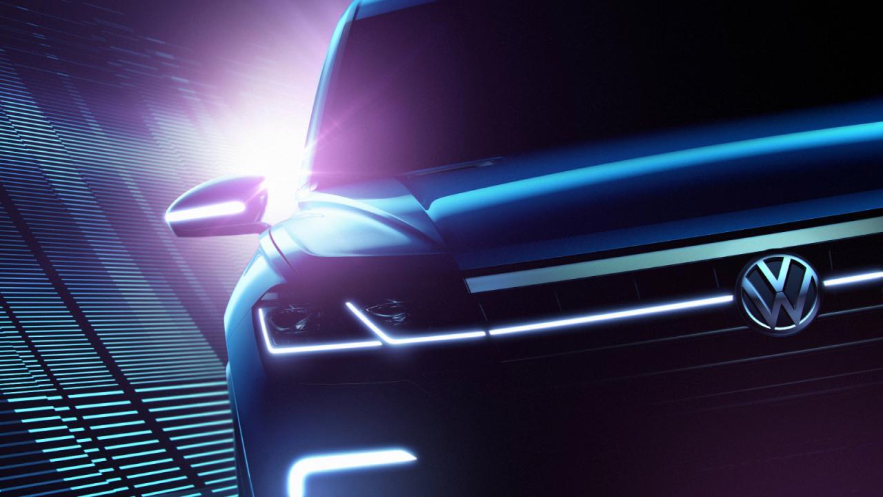 Volkswagen отправил в Пекин высокотехнологичный кроссовер