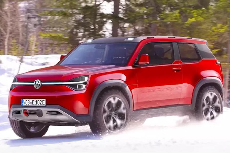 Volkswagen выпустит конкурента Land Rover Defender