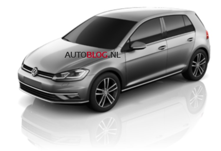 Обновлённый Volkswagen Golf VII рассекретили в сети