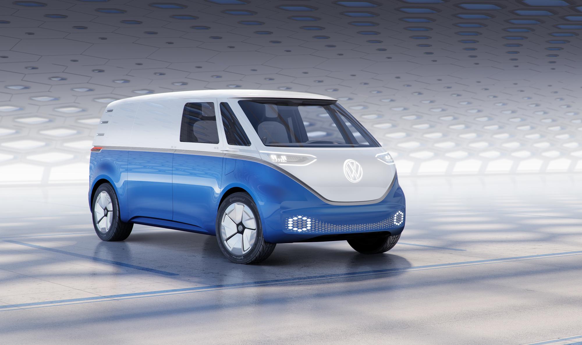Семейство электрокаров Volkswagen I.D. дополнил фургон Buzz Cargo