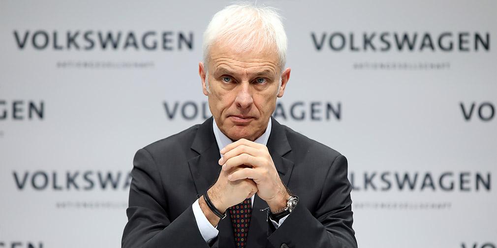 Глава концерна Volkswagen ушел в отставку