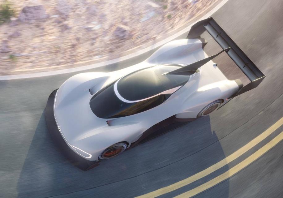 Volkswagen показал внешность гоночного электрокара I.D. R Pikes Peak