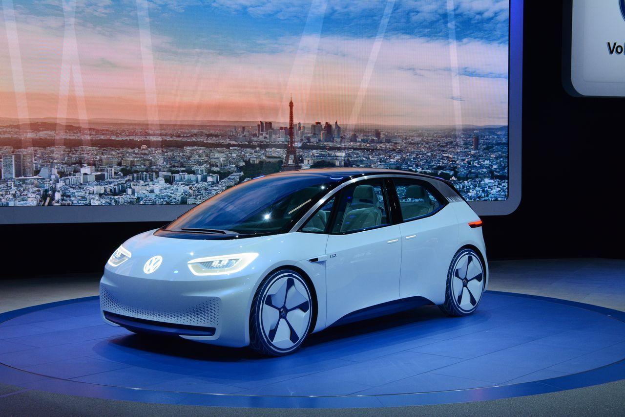Концепт Volkswagen I.D. предвосхитил серийный электромобиль