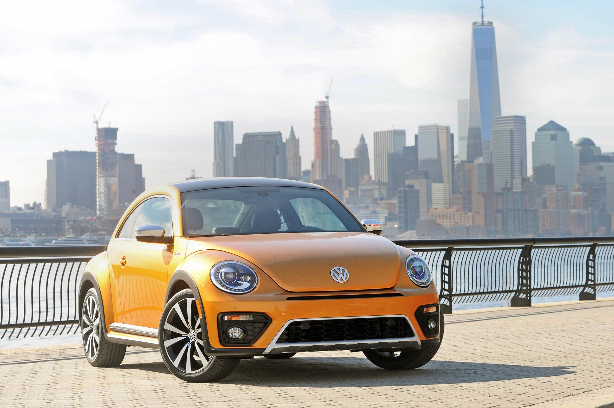 Volkswagen превратит Beetle в электромобиль