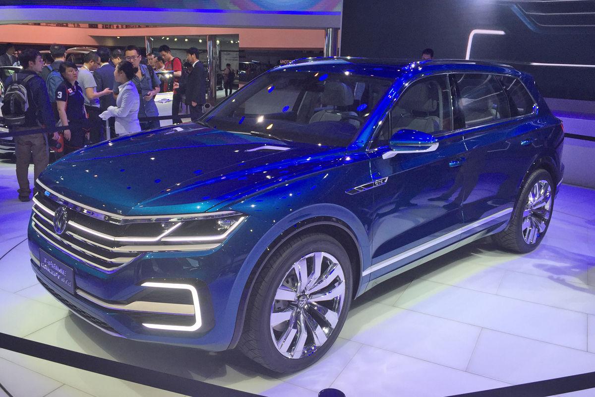 T-Prime Concept GTE намекнул на нового флагмана Volkswagen