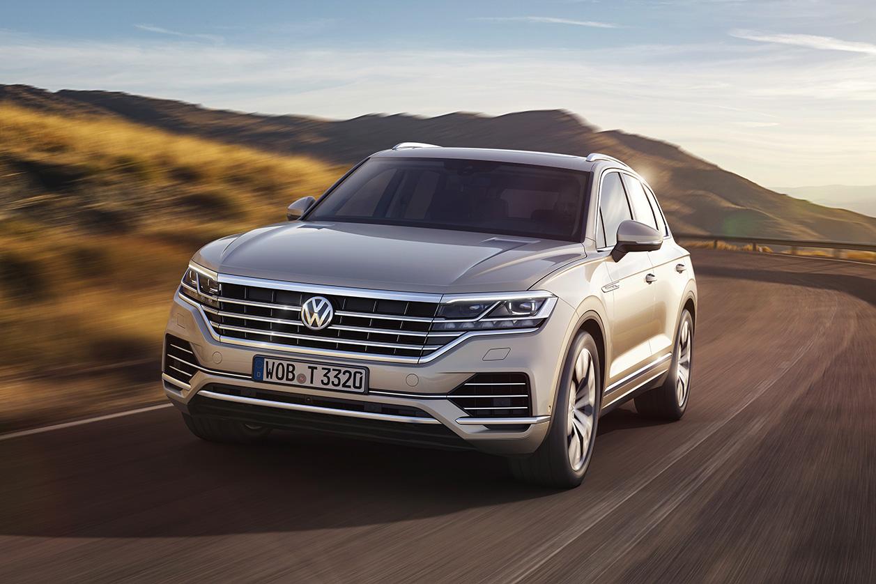 Представлен Volkswagen Touareg третьего поколения