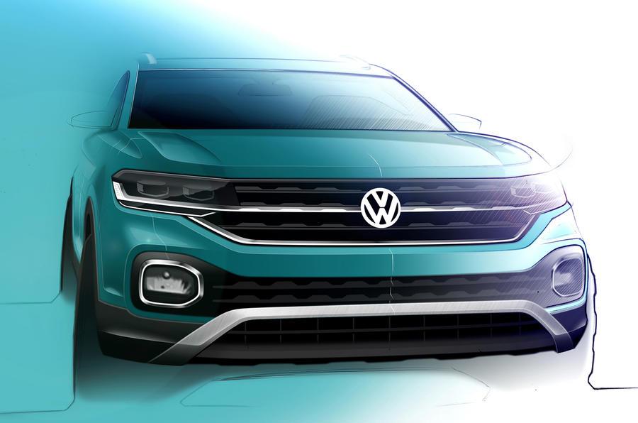 Volkswagen раскрыл интерьер нового компактного кроссовера