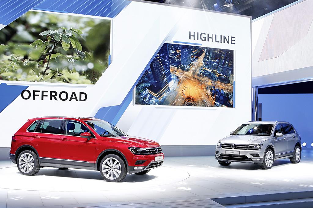 Раскрыты подробности нового Volkswagen Tiguan для Украины