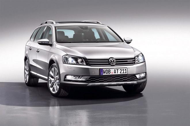 Volkswagen Passat Alltrack фото