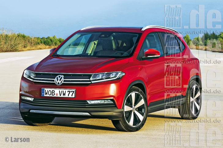 Новый кроссовер Volkswagen оценили в 20 000 евро
