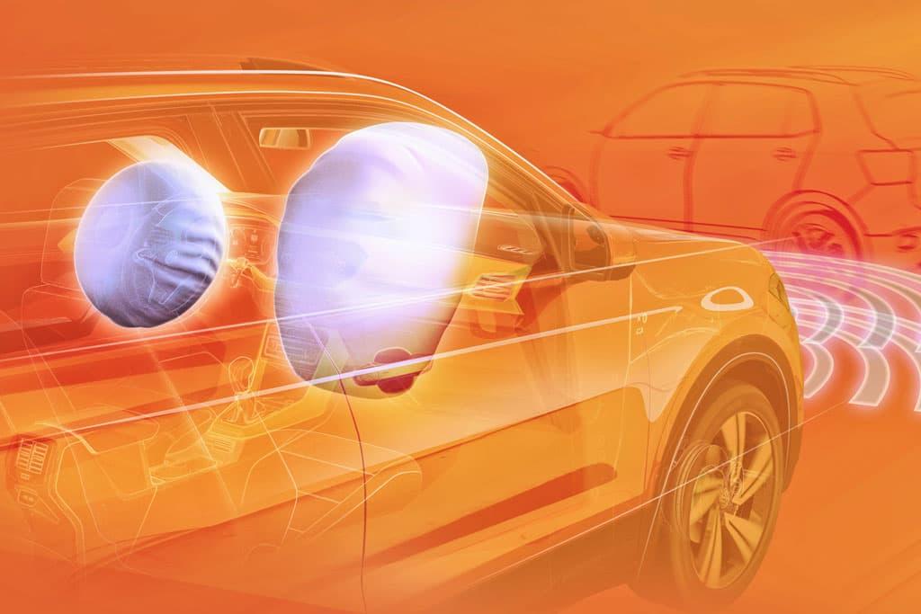 Volkswagen показал работу систем безопасности T-Cross