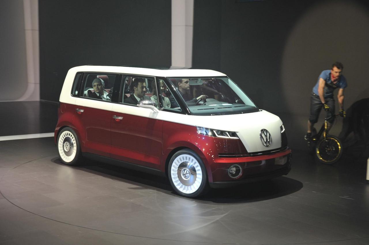 Volkwagen возродит любимый минивэн хиппи