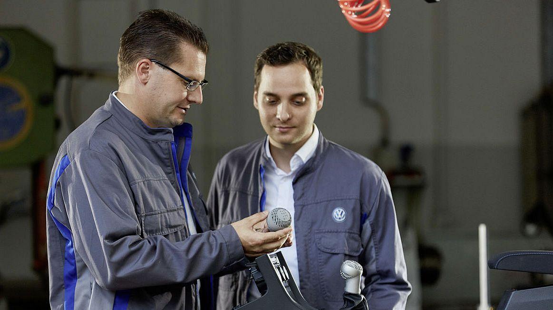 Volkswagen будет использовать 3D-печать для массового производства компонентов