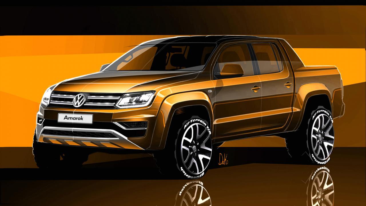 Volkswagen показал как обновится Amarok