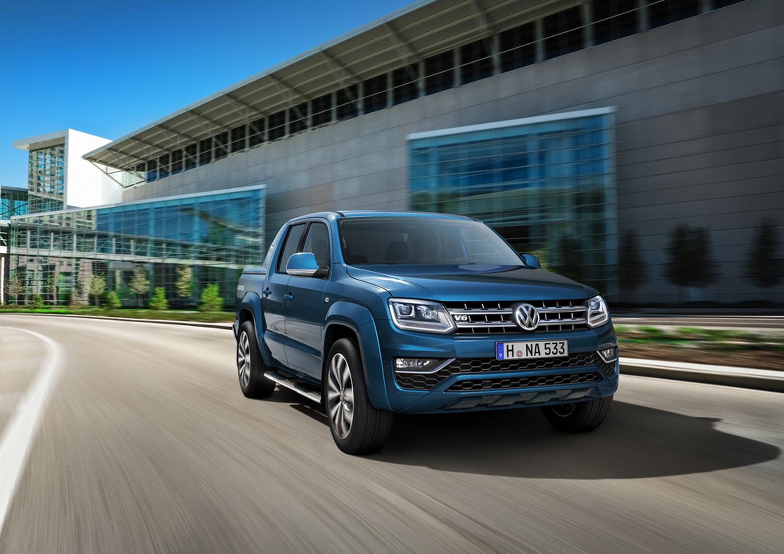 Volkswagen выпустит внедорожник на базе пикапа Amarok