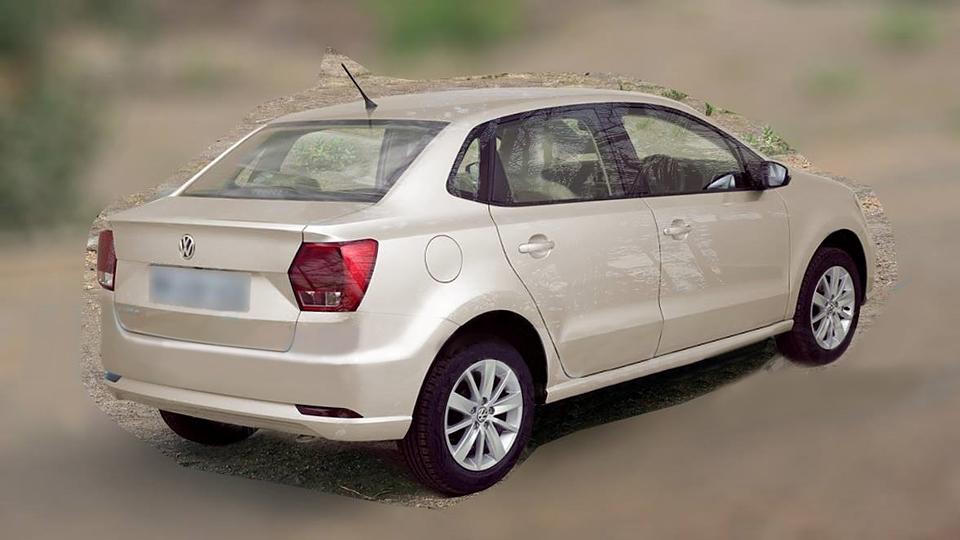 Седану Volkswagen Polo в Индии отрубили «хвост»